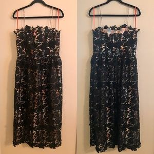 NWT Anthropologie Monique Lhuillier Dress Size 12